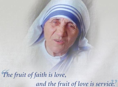 good catholics Mother Teresa
