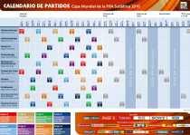 Calendario del mundial 2010 en pdf