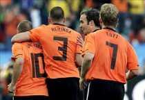 Goles de Holanda a Eslovaquia Holanda 2 Eslovaquia 1