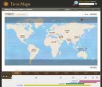 Historia de la humanidad en mapas interactivos TimeMaps