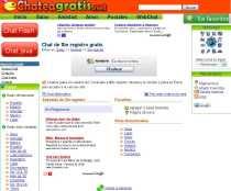 Chat sin registro ChateaGratis.net en español