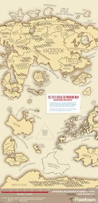 Mapa de redes sociales 2010