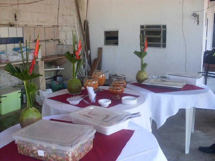 Mesa Almoço - Festa Transgavi