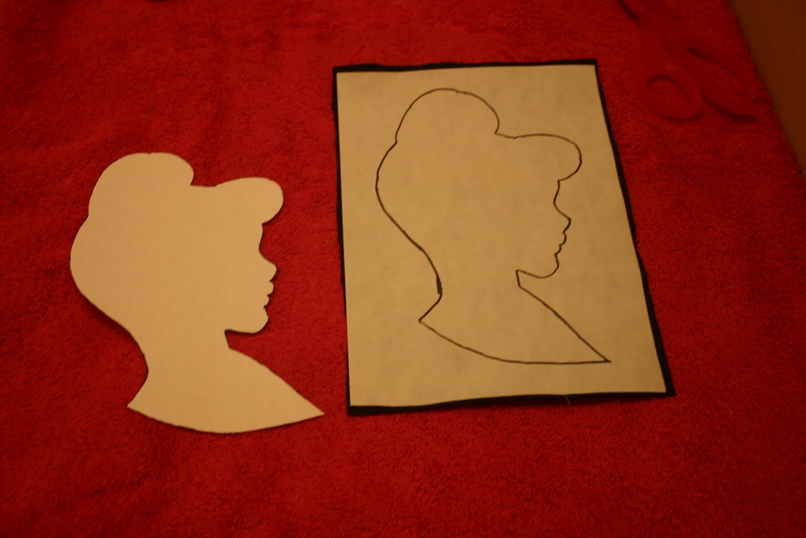 Viewing Gallery For - Cinderella Silhouette