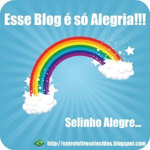 13º Selinho do Blog Entre Feltros e Tecidos