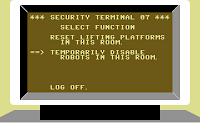 A security terminal