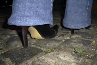 cobblestones stilettos