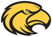 Southern Miss Golden Eagle logo facing to the right