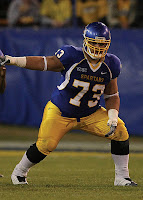 San Jose State offensive lineman football player.