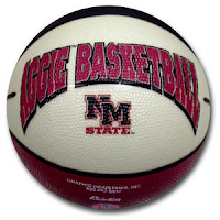 White Aggie basketball NM State.