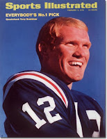 Terry Bradshaw on Sports Illustrated cover.