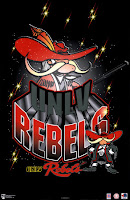 University of Nevada Las Vegas Rebels computer wallpaper.