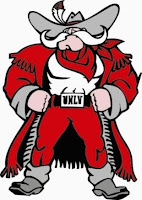 University of Nevada Las Vegas mascot drawing.