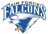 Air Force Falcons drawn logo.