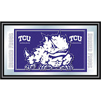 TCU license plate design.