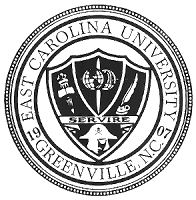 East Carolina University round seal.