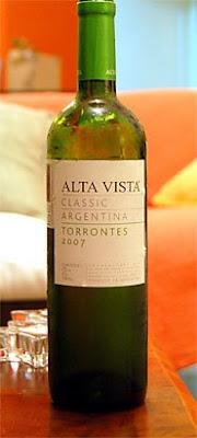 Alta Vista Classic Torrontes 2007