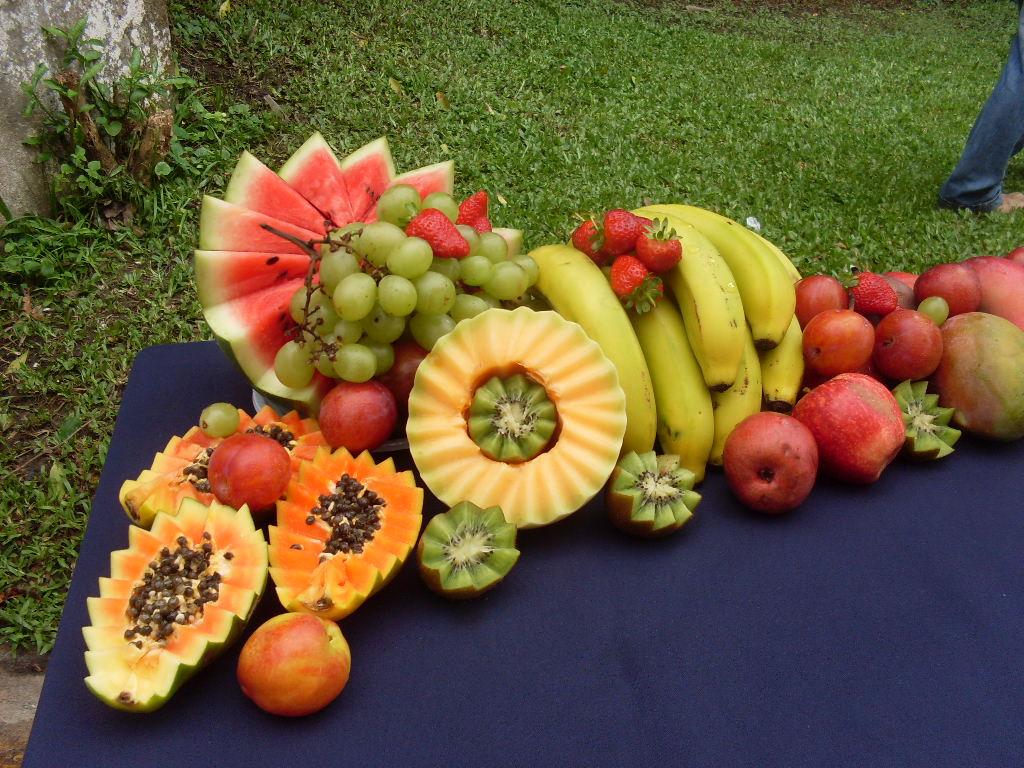 bilhete de identidade da fruta frutas decoradas