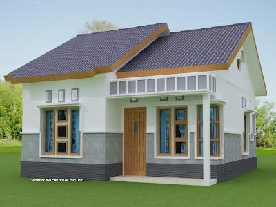 rumah minimalis type 36 on Faneltsa Blog's: Sample Rumah Sederhana Tipe 36 (Arsitektur Kado)..