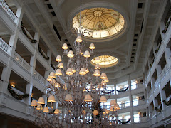 Chandelier and Skylights at Grand Floridian