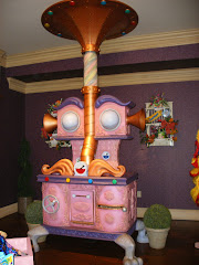 Candy Shop Whimsical Stove