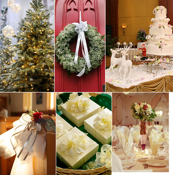 Christmas Wedding Decoration