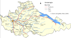 Mapa de Los Lagos