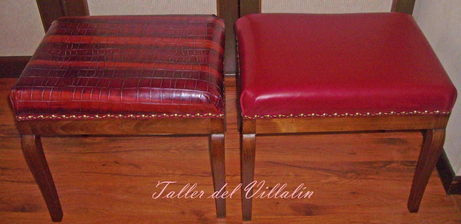 Taller del villal n mayo 2010 - Escabeles tapizados ...