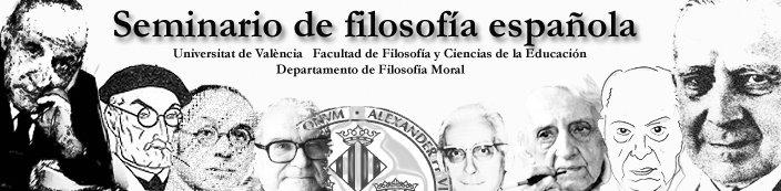 Seminario de filosofía española