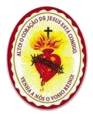 Estou sob a proteção do Escudo do Sagrado Coração de Jesus!