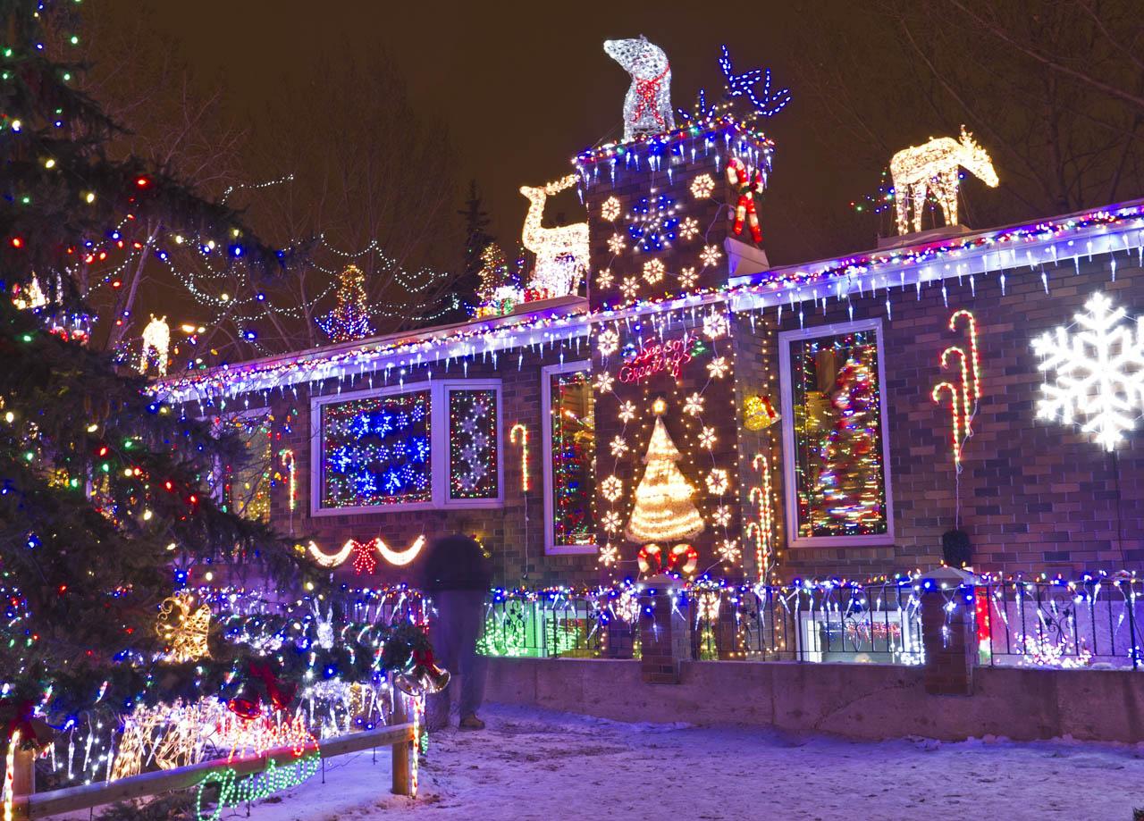 Edmonton Christmas Lights: 9619-144 Avenue