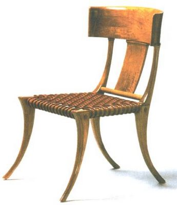 Ancient greek klismos chair - While Available In Any Number Of Finishes Materials And Shapes One
