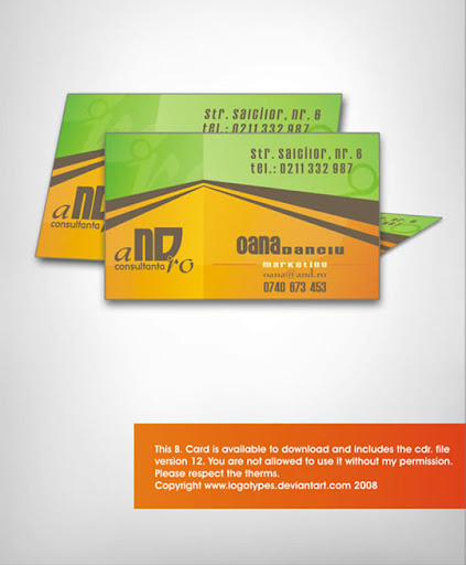 Corporate+AND+by+logotypes Business Card Design: Useful Tutorials, Source Files and Templates