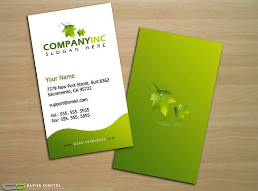 Business+Card+Template+ +1 Business Card Design: Useful Tutorials, Source Files and Templates