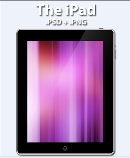 The iPad  PSD Edition by GeminiDesign 7 Useful Apple iPad PSD GUI Packs for Designers