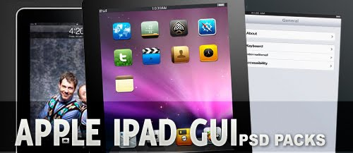 Apple+iPad+PSD+GUI+Packs+for+Designers 7 Useful Apple iPad PSD GUI Packs for Designers