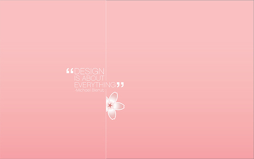 "Design+Is+About+Everything 70+ Super Creative Wallpapers ""About Design"""