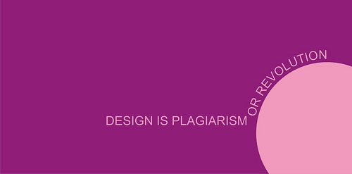 "Design+is+plagiarism+or+revolution 70+ Super Creative Wallpapers ""About Design"""