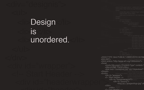 "Design+is+Unordered 70+ Super Creative Wallpapers ""About Design"""