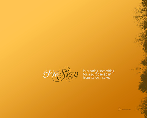 "Design+is...+philosophical 70+ Super Creative Wallpapers ""About Design"""