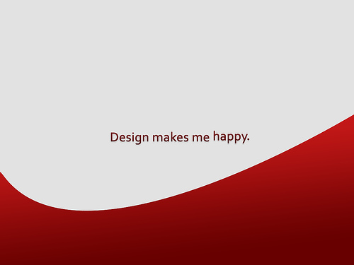 "Design+makes+me+happy 70+ Super Creative Wallpapers ""About Design"""