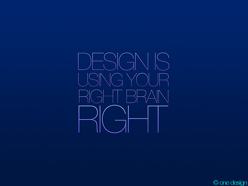 "Using+your+right+brain+RIGHT 70+ Super Creative Wallpapers ""About Design"""