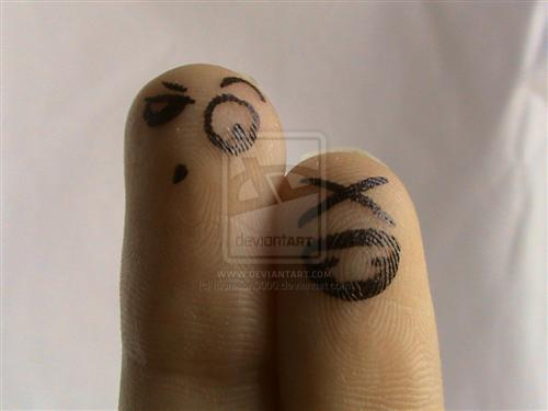 45 Gorgeous Smiley Fingers Photographs photography inspiration  wallpaper deviantart