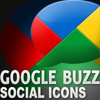 Google+Buzz+Free+Download+Social+Icons Google Buzz Social Icons for Bloggers and Designers