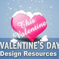 Valentine%27s+Day+Design+Resources Valentines Day Inspired: Design Resources Roundup