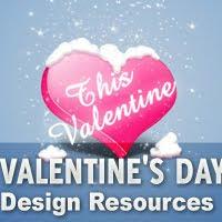 Valentine%27s+Day+Design+Resources Valentines Day Inspired: Design Resources Roundup