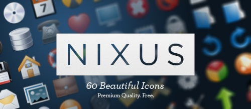 NIXUS+Icon+Pack+60+Beautiful+Premium+Icons+Free Best of the Web: Design Community February 2010
