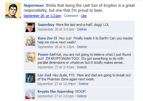 statussuperman 40+ Hilarious Facebook Comic Strips