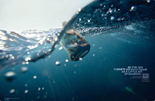 waste+can 27 Alarming Advertisements Dedicated to Earth Day | Part  2