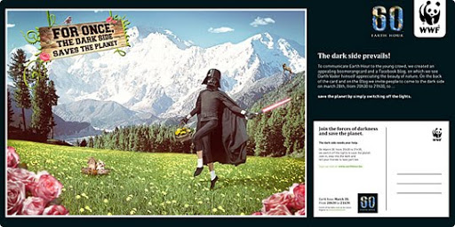 Darth+Fladder 27 Alarming Advertisements Dedicated to Earth Day | Part  2